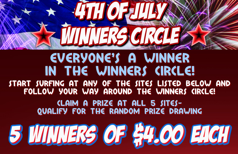 4th of July Winners Circle